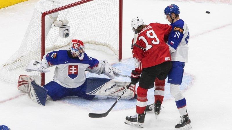 Hockey sur glace: La Suisse rate son entrée