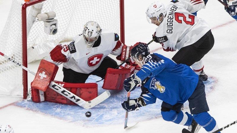 Hockey sur glace: la Suisse s'incline contre la Finlande après une belle résistance