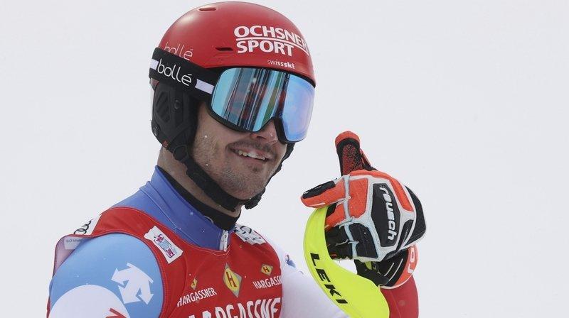 """Loïc Meillard, après sa 4e place au slalom de Flachau:"""" Frustrant, mais je montre que je peux me battre tout devant"""""""