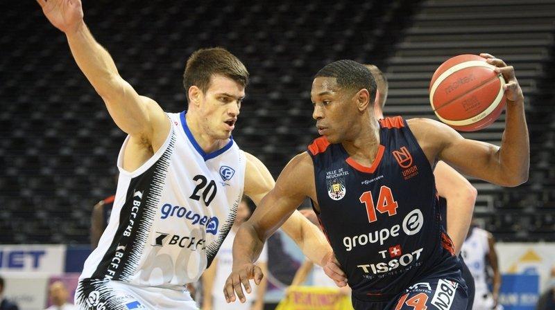 Basketball: dépassé, Union n'a jamais eu son mot à dire face à Fribourg