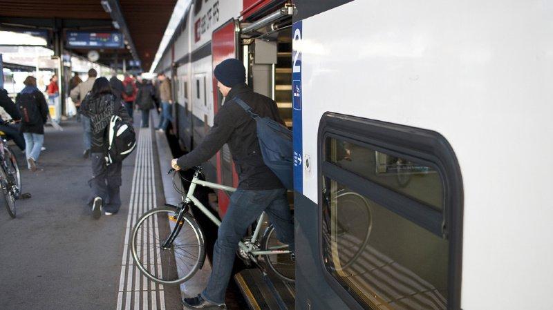CFF: l'obligation de réservation pour les vélos fâche les cyclistes