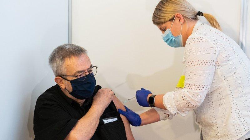 A Cernier, une cinquantaine de Neuchâtelois ont déjà été vaccinés contre le Covid-19