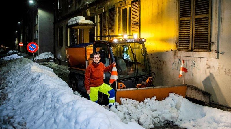 La Chaux-de-Fonds: une nuit au volant du chasse-neige