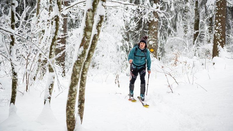 Le ski de randonnée a gagné le cœur des Neuchâtelois