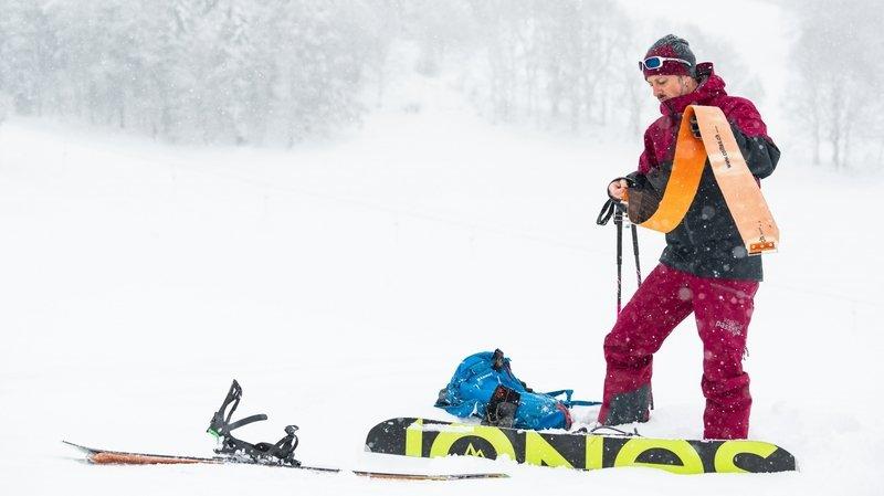 Sport hivernal: le «snowboard de randonnée», c'est possible!