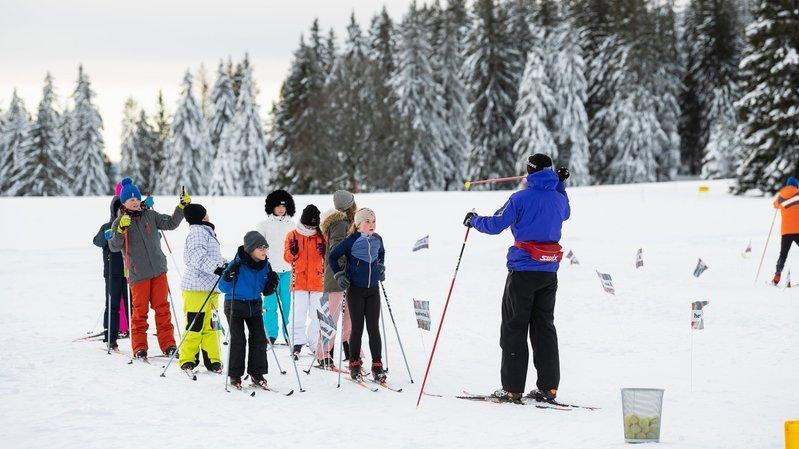 La Chaux-de-Fonds: cette semaine à l'école, c'est ski de fond!
