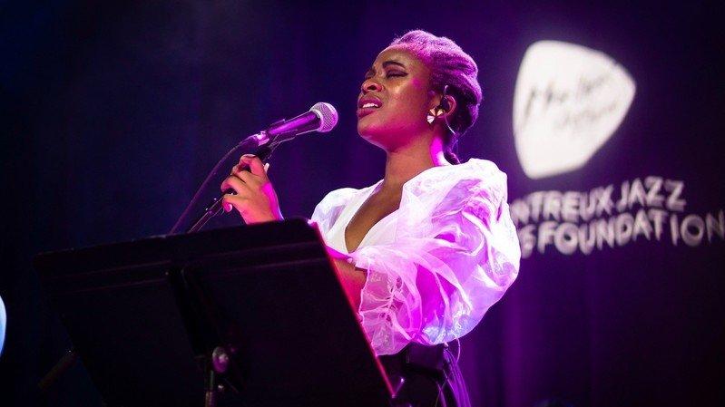 Afra Kane au Montreux Jazz Academy Concert