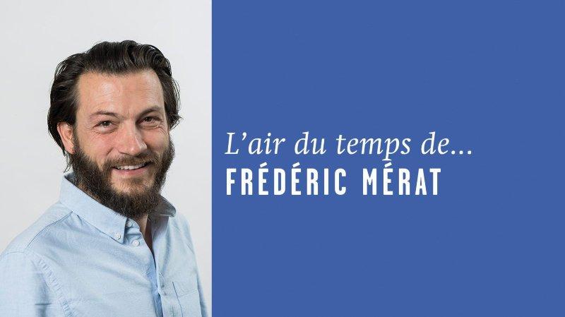 «Ecran de fête», l'air du temps de Frédéric Mérat