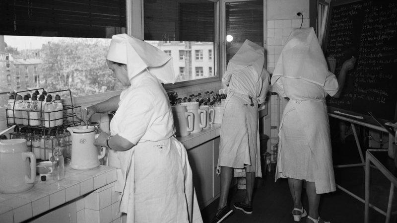 En 1949, une «grippe italienne» sévit à Paris