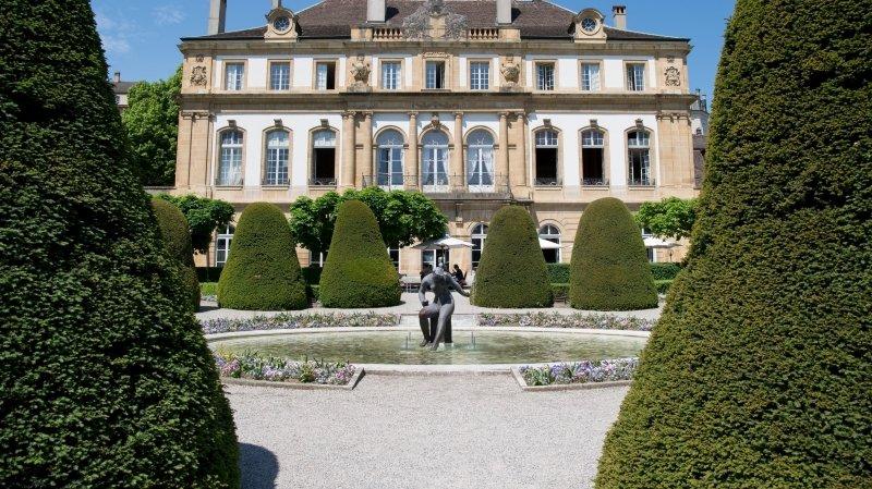Neuchâtel: un mariage civil au château