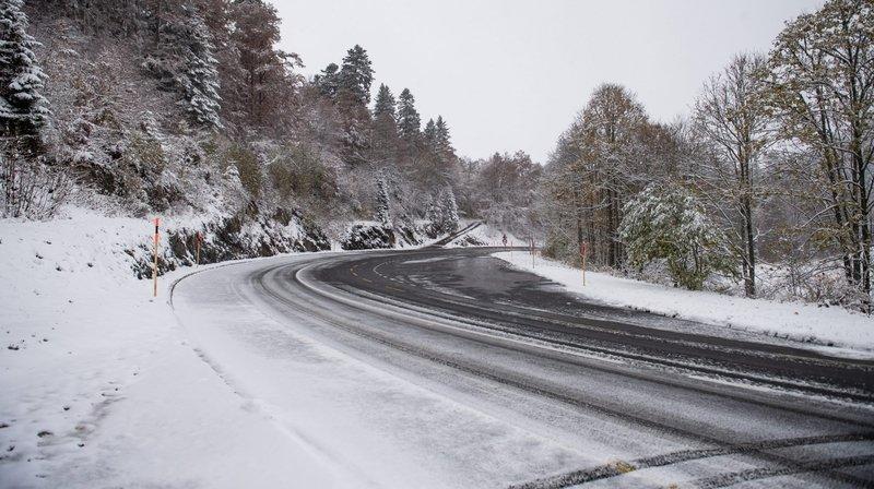 Trois voitures se percutent sur la route de La Vue-des-Alpes