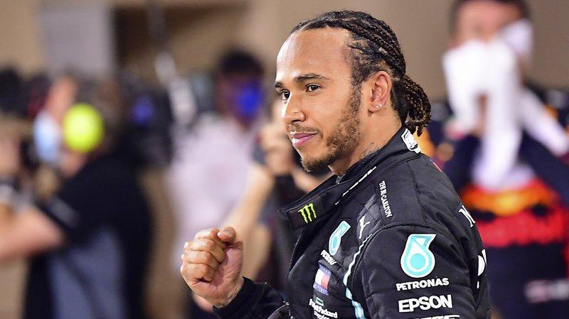 Formule 1: Lewis Hamilton a été anobli