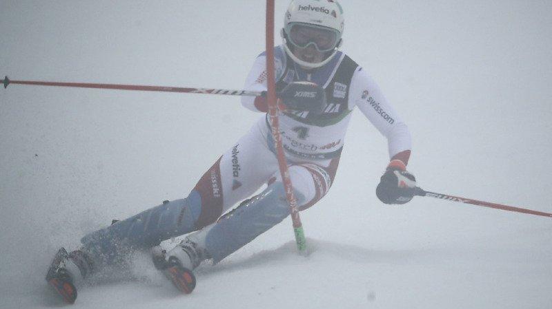 Ski alpin: Michelle Gisin sur le podium à l'issue du slalom de Zagreb