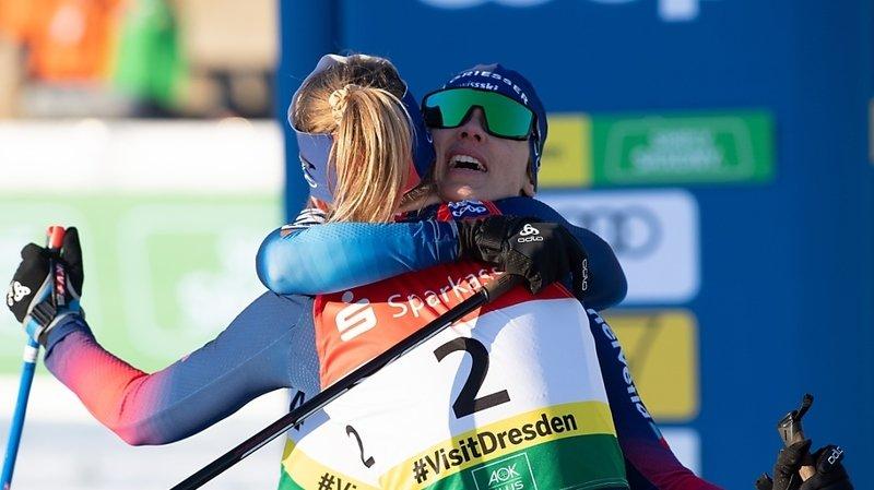 Ski nordique: victoire du duo Fähndrich/Van der Graaff à Dresde