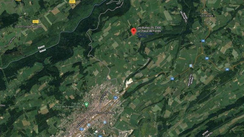 La Chaux-de-Fonds: une blessée après une collision aux Bulles