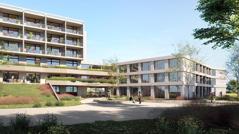 Neuchâtel: nouveau bâtiment pour le home des Charmettes