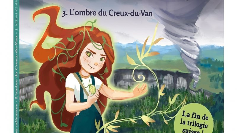 Un livre pour enfants inspiré du Creux-du-Van
