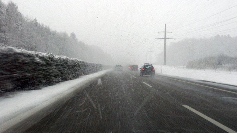 Accidents en série sur les routes du Jura bernois
