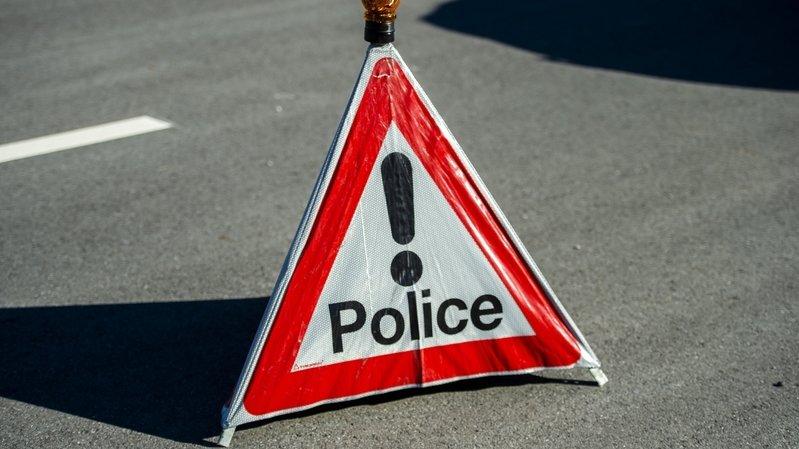 Gorges du Seyon: un accident de la route fait un blessé