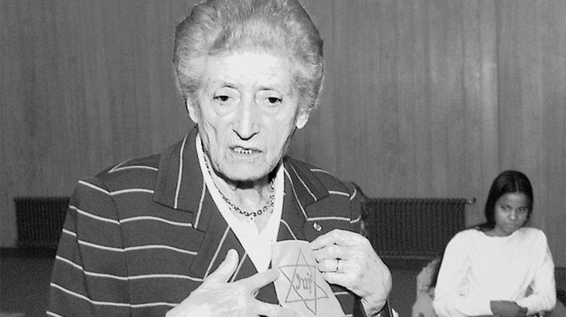 En 2000, la résistante française Lucie Aubrac était à La Chaux-de-Fonds