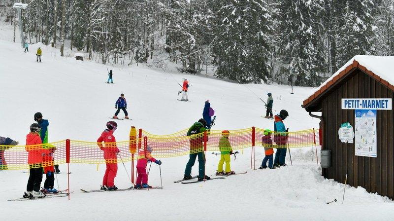 La station des Bugnenets-Savagnières ne pense pas à limiter le nombre de skieurs sur ses pistes.