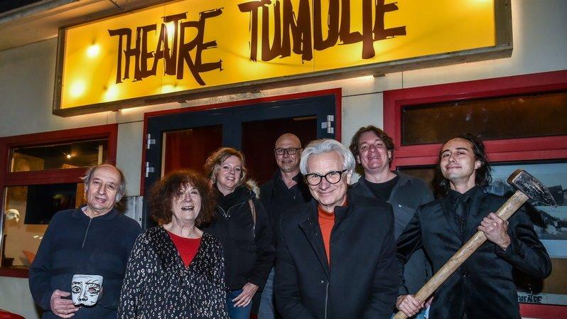 Peseux: le théâtre Tumulte inaugure sa nouvelle enseigne en comité restreint