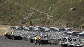 Valais: le parc solaire du lac des Toiles gagne un prix