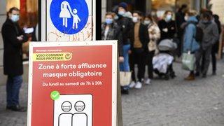 Coronavirus: la Suisse compte 4703 nouveaux cas en 72 heures, 121 décès et 203 hospitalisations