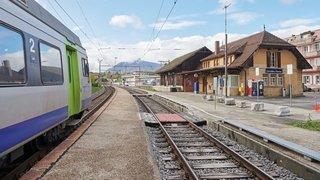 Trains: horaires modifiés et bus de remplacement entre le Haut et le Bas