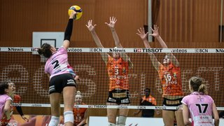 Volleyball: Aesch, un défi de taille pour le NUC