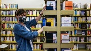 Covid-19: les amoureux des livres se sont rués dans les bibliothèques à Neuchâtel et La Chaux-de-Fonds