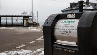 Neuchâtel: les conteneurs enterrés perdent leur bouton