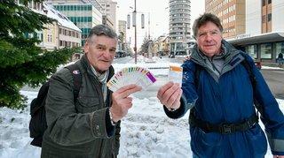 Deux Chaux-de-Fonniers se sont amusés à sillonner la Suisse au gré du Monopoly