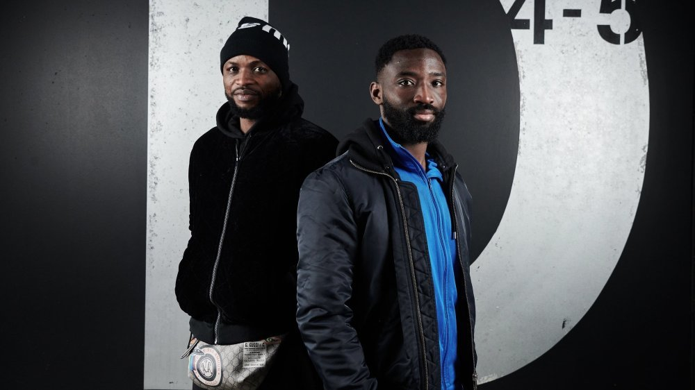 Umaru Bangura (à gauche) et Anthony Koura sont prêts à en découdre pour leur club.