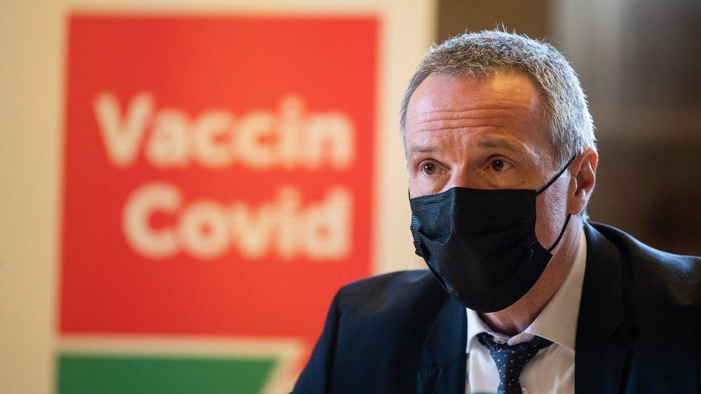 Le ministre neuchâtelois de la Santé, Laurent Kurth, estime que le fait de se faire vacciner est un acte de solidarité.