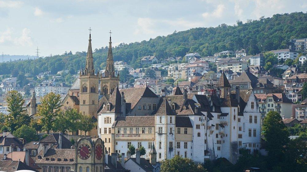 chateau  Neuchatel, le 14 septembre 2020 Photo: David Marchon