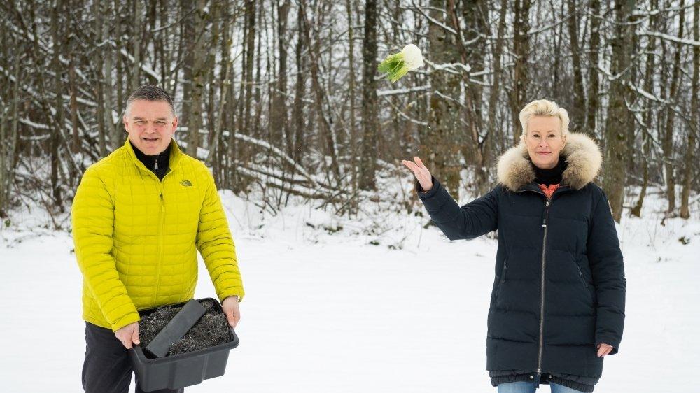 Raphaël Broye, directeur de Panatere, et Liselotte Thuring, cheffe de projet, sont convaincus qu'une horlogerie moins gourmande en ressources naturelles est possible.