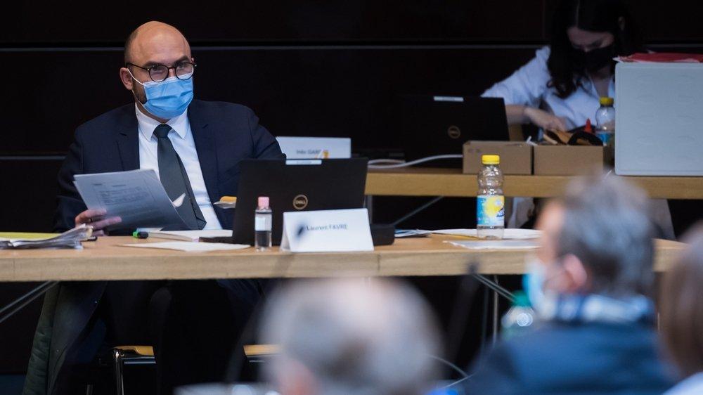 Le conseiller d'Etat Laurent Favre a dû composer avec la gauche sur l'exploitation du sous-sol.