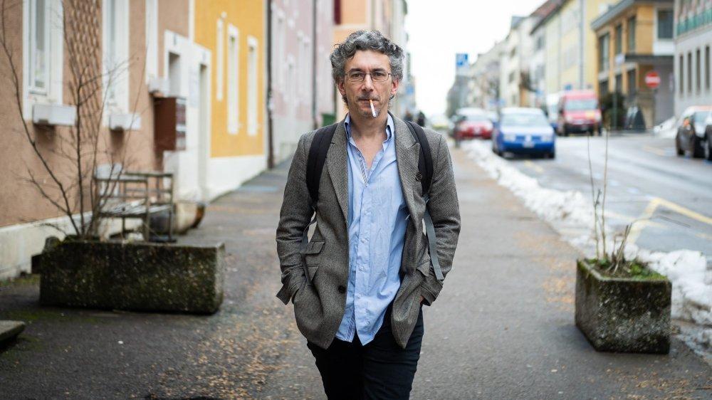 Karim Boukhris, président du Conseil général de La Chaux-de-Fonds et ancien animateur du groupe Bélier.