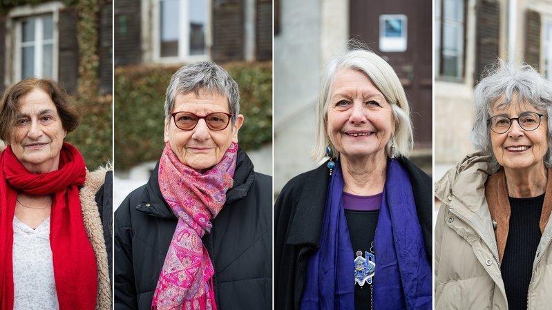50 ans du droit de vote des femmes: quatre militantes neuchâteloises de la première heure témoignent
