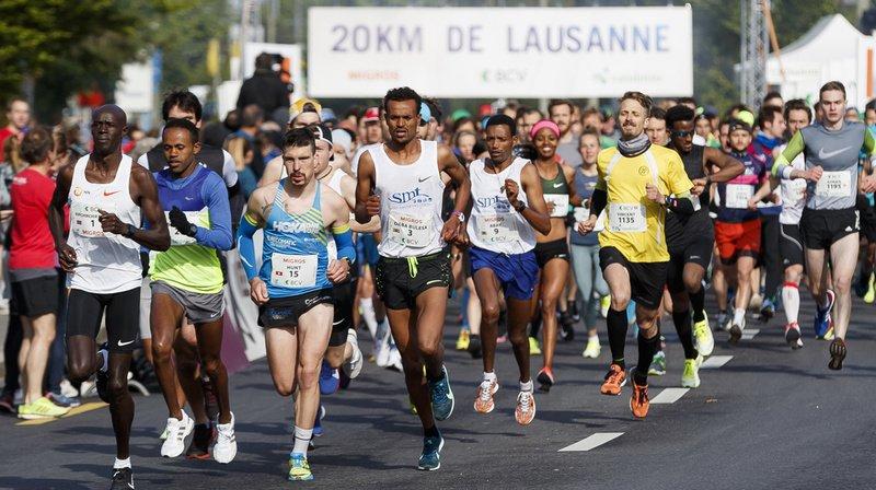 """La dernière édition """"normale"""" des 20 km de Lausanne s'est déroulée le 5 mai 2019."""