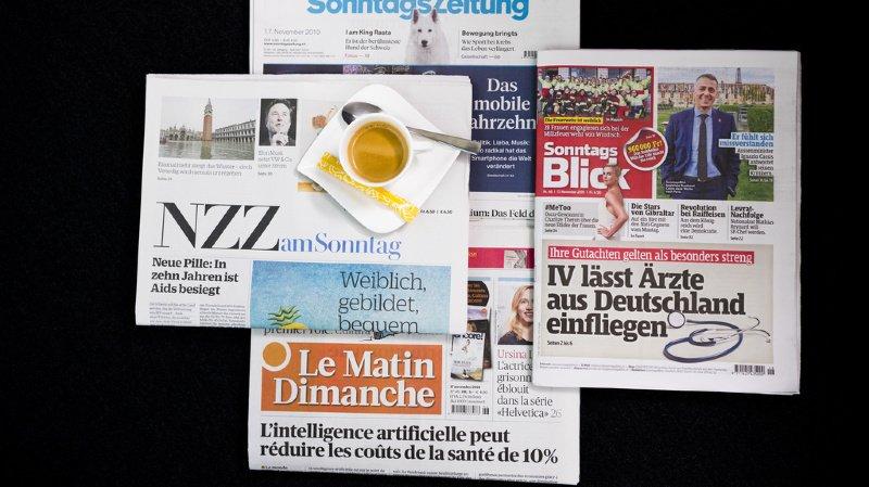Revue de presse: traçage défaillant, pressions sur le Conseil fédéral et harcèlement à la RTS… les titres de ce dimanche