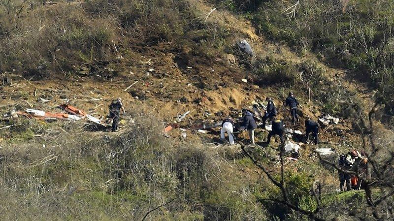 L'hélicoptère s'est écrasé le 26 janvier contre une colline de Los Angeles. (Archives)