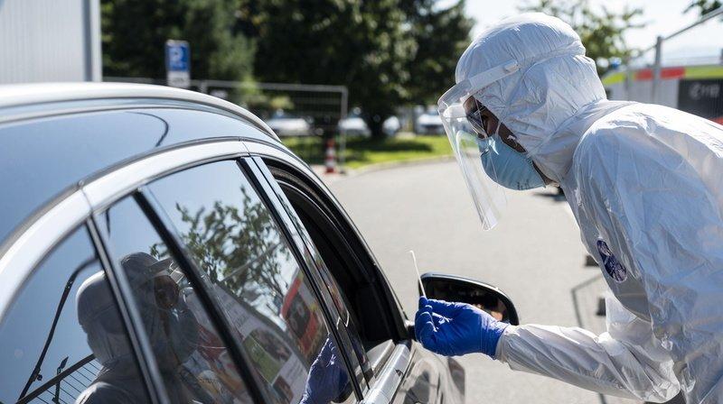 Coronavirus: le taux de reproduction augmente à nouveau en Suisse, à près de 0,9