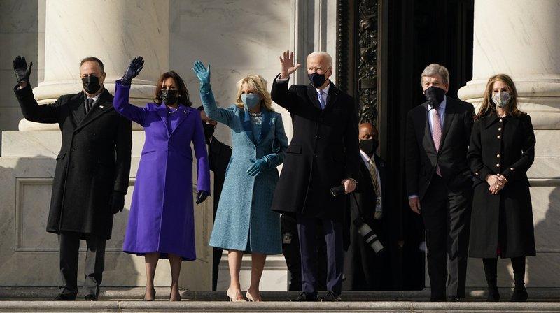 Cérémonie d'investiture: Joe Biden et Kamala Harris sont arrivés au Capitole pour prêter serment