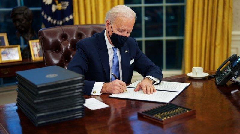 Bidensigne le retour dans l'Accord de Paris sur le climat