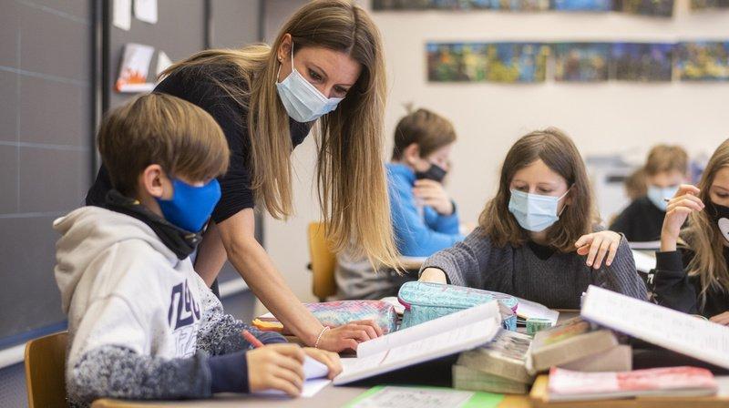 Neuchâtel ne compte pas imposer le masque aux petits écoliers dans l'immédiat