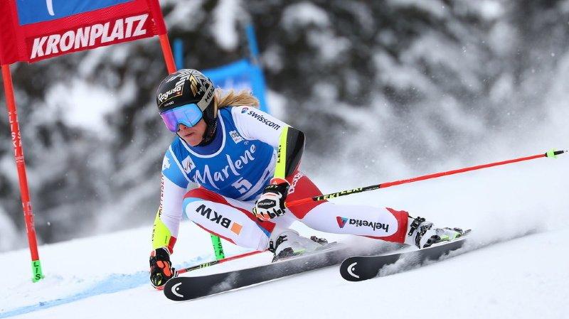 Ski alpin: Lara Gut-Behrami termine 2e du géant de Kronplatz