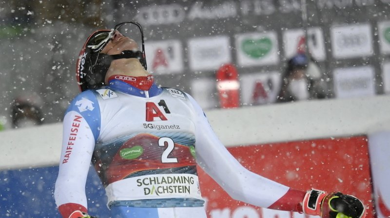 Ski alpin: Marco Schwarz s'impose au slalom de Schladming, Zenhäusern 5e