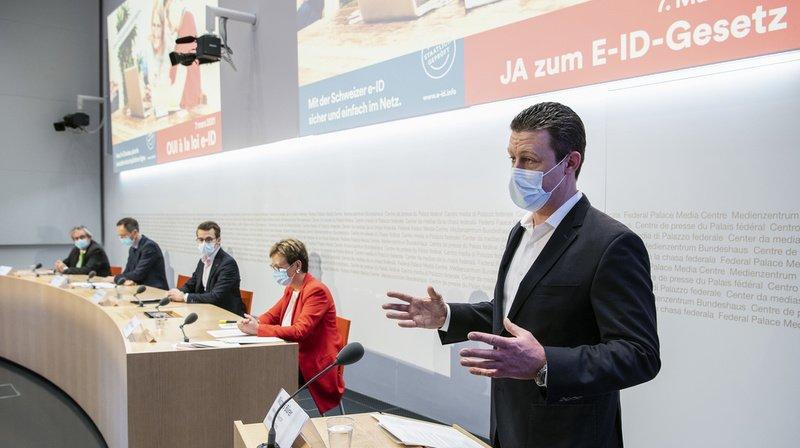 Identité électronique: pour le camp du oui, la loi bénéficiera aussi bien aux citoyens qu'aux entreprises
